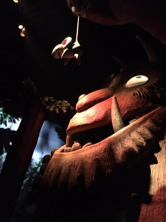 Chessington, UK: Gruffalo