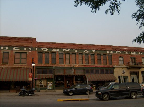 Buffalo, WY: Front of hotel