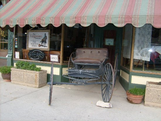 The Historic Occidental Hotel & Saloon and The Virginian Restaurant: Front of hotel