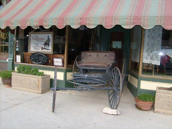Μπάφαλο, Ουαϊόμινγκ: Front of hotel