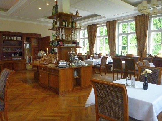 Restaurant im Schloss Burgellern: Restaurant