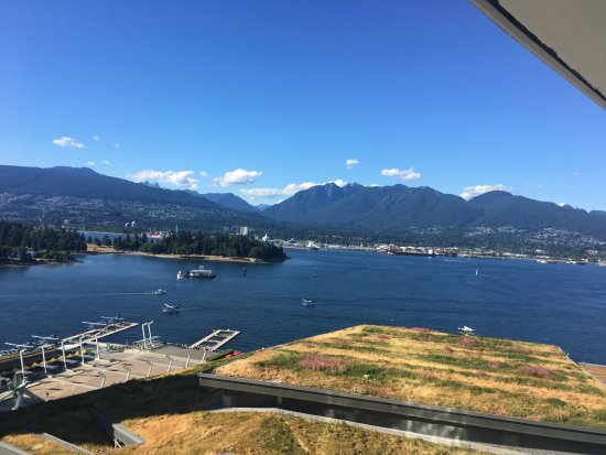 View From Club Level Balcony Picture Of Fairmont Pacific Rim Vancouver Tripadvisor