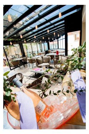 Restaurant Le Patio : Le Bar by Patio