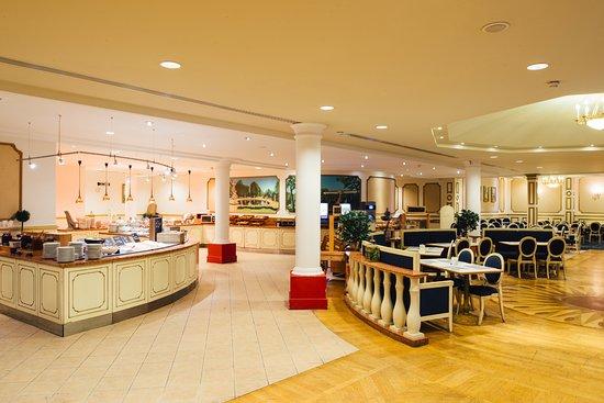 Vienna House Dream Castle Paris: Restaurant Sans Souci - Petit-déjeuner