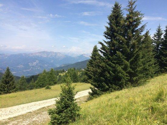 Folgaria, Italie : Il sentiero principale del biotopo