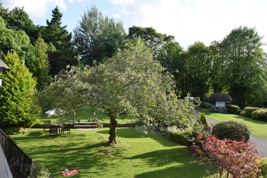 East Horsley, UK: Balcony view from the function room