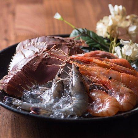 Kashiwa, Japan: 海老の刺身盛り合わせ・Shrimp sashimi・ 刺身蝦・새우의 생선회