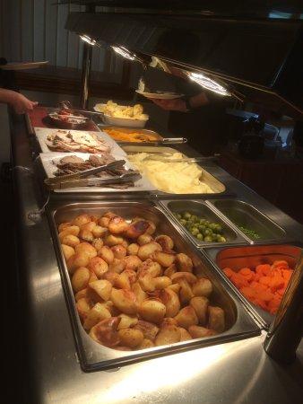 Borth, UK: Eat in or takeaway