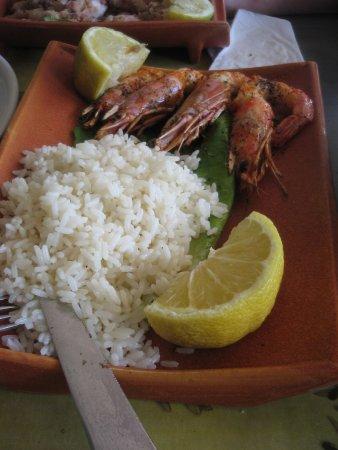 Arkoudi, Grecia: Γαρίδες τηγανητές