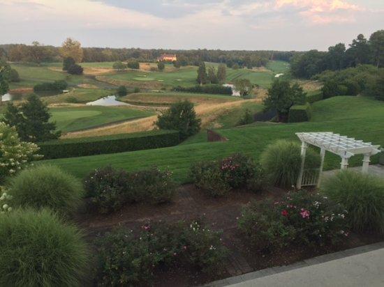 Keswick, VA: View from the veranda