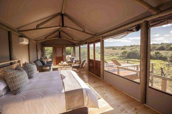 Amakhala Game Reserve, Südafrika: Luxury Safari Tent