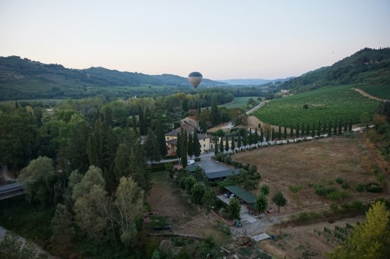 San Casciano in Val di Pesa, Italy: During our flight