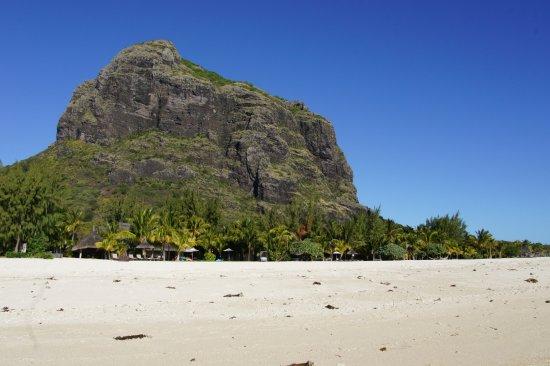Le Morne Beach: Vue Morne