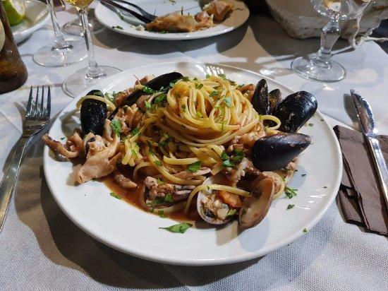Pescheria Fratelli Vittorio : linguine al pesce
