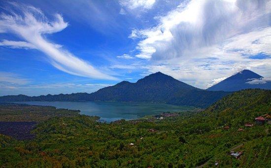 Lovina Beach, Indonésie : Mount Batur