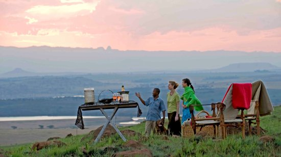 Bergville, South Africa: Sundowners