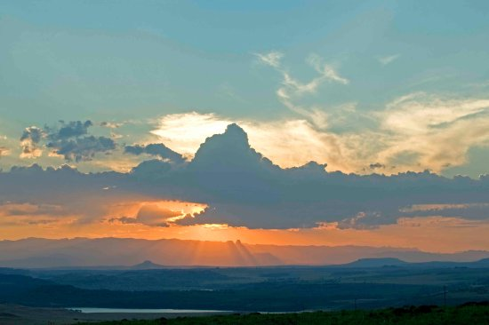 Bergville, South Africa: view from sundowners spot