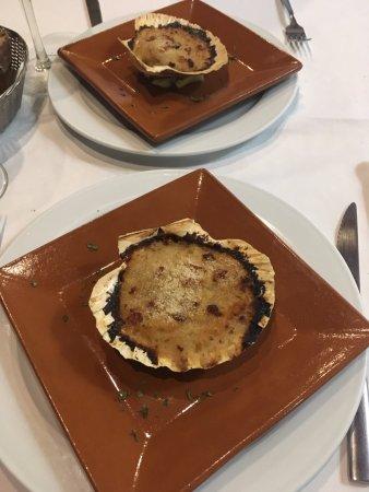Asador Peregrina: Vieiras deliciosas