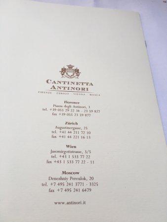 Cantinetta Antinori: photo8.jpg