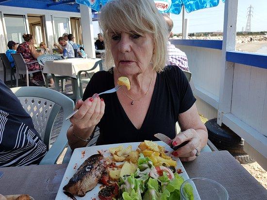 Fos-Sur-Mer, Γαλλία: Le Mistral Gagnant