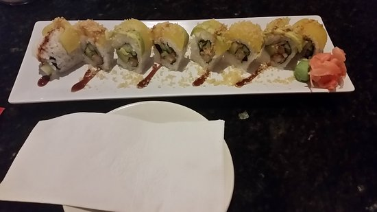 Golden Crown Restaurant: Hawaiian 5-O roll