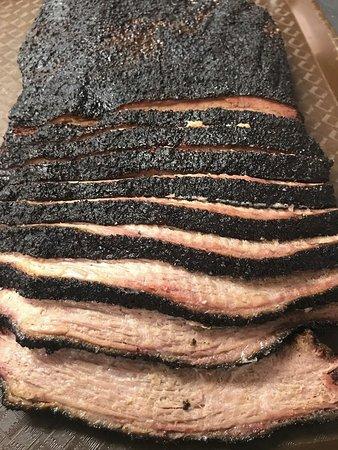 Scottsboro, AL: It took years to perfect our smoked brisket recipe. Savory, tender, smoky, delicious.