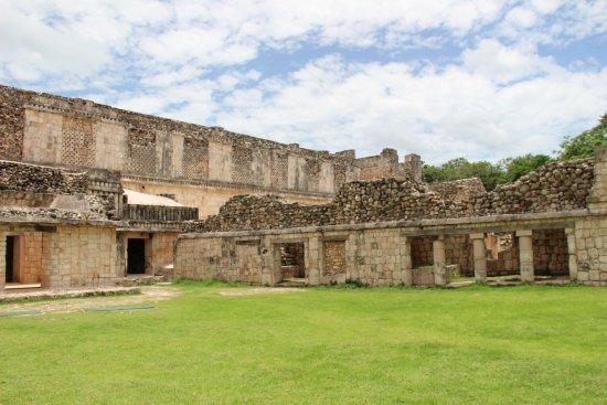 Temples of Uxmal: area cittadina