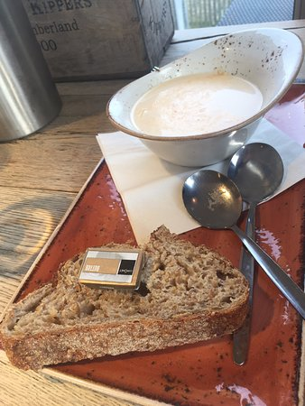 Craster, UK: zuppa
