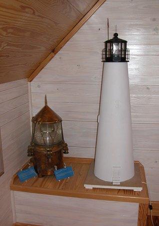 St. George Island, FL: Lighthouse Display