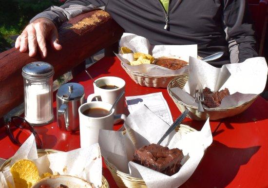 Plain of Six Glaciers Tea House: Combo Meal