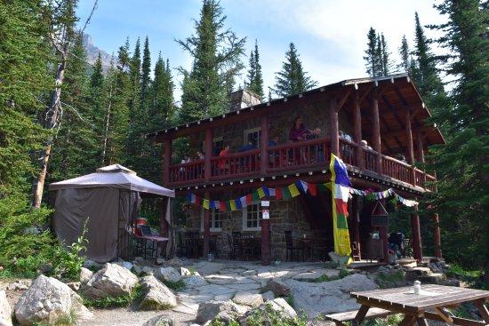 Plain of Six Glaciers Tea House: Tea House