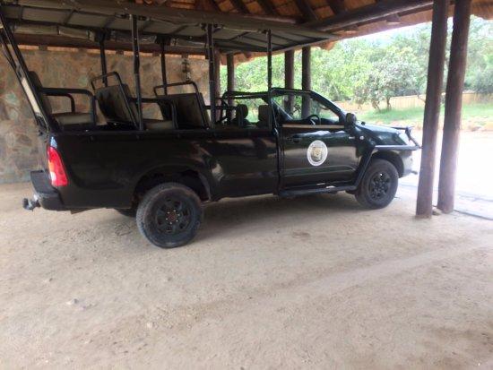 Hoedspruit, South Africa: Tour vehicle