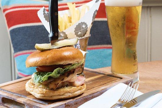 Shaftesbury, UK: Home Made Burger