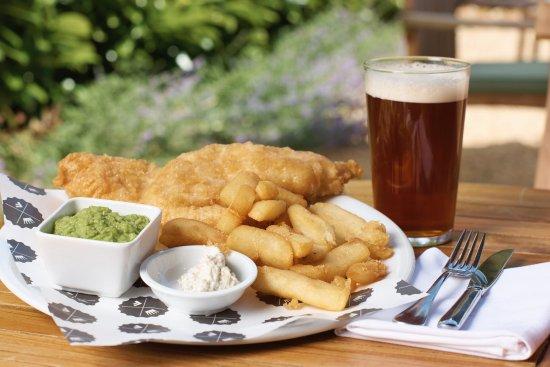 Shaftesbury, UK: Fish & Chips