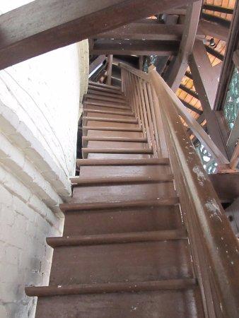 Teluk Intan, Malasia: Staircase in the tower.