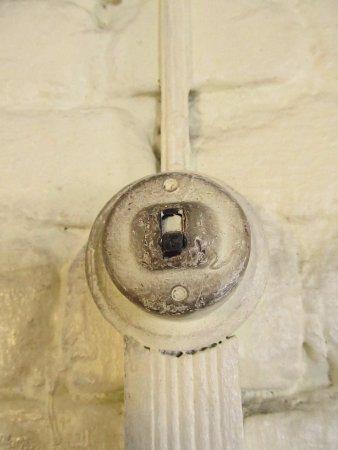 Teluk Intan, Malaysia: A very ancient light switch.