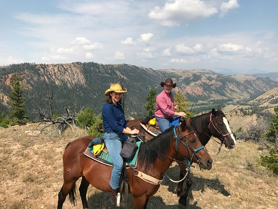 Dubois, WY: The ride to the Wiggins fork of the Wind River.