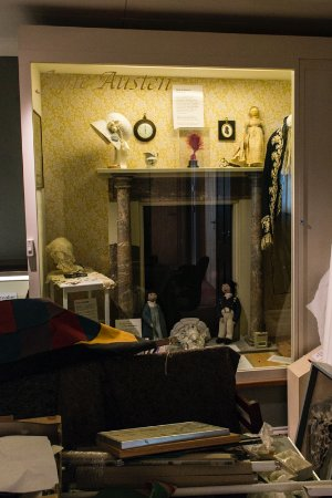 Lyme Regis, UK: Jane Austen Display