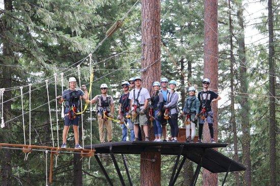 Klamath Falls, OR: The Zipline Gang