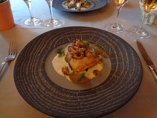 Restaurant du Grand Saint Benoit : Steinbutt