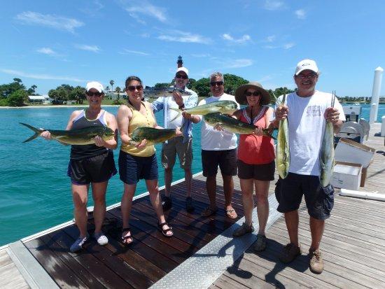 Jupiter, Φλόριντα: Our catch!