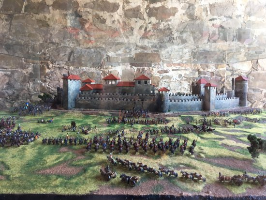 Ponferrada, إسبانيا: Maqueta Castillo Templario