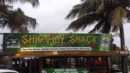 Frigate Bay, Saint Kitts: Shiggidy Shack