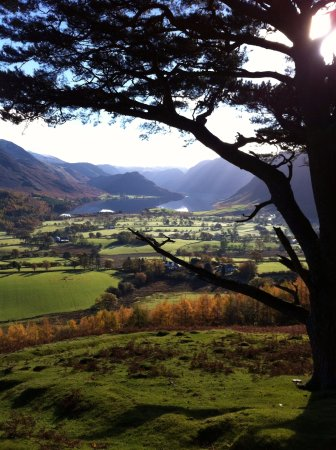 Loweswater, UK: The road to Kirkstile