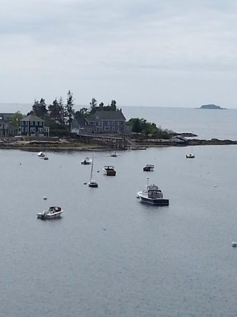 New Harbor, ME: photo from the top of the fort
