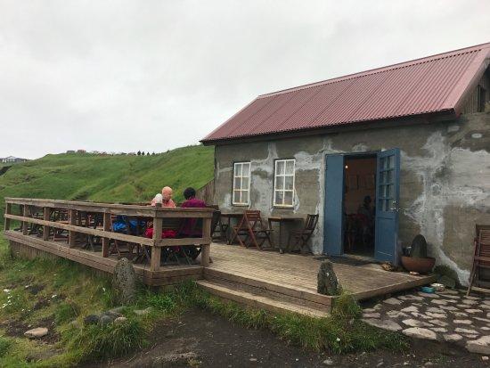 Hellnar, أيسلندا: Fjoruhusid Cafe