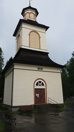 Alavus, Finland: A clocktower from year 1845