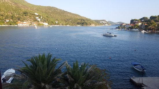 Zaton, Chorwacja: View from our room