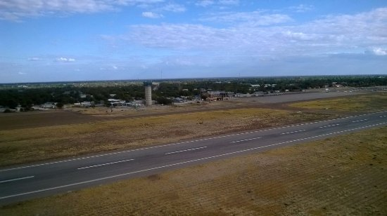vista su aeroporto Maun