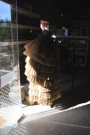 Pinhao, Portugal: An old straw coat which used to be used by estate workers in the rain